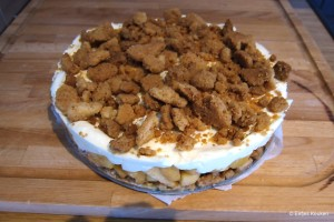 Appelkruimel Cheesecake 1