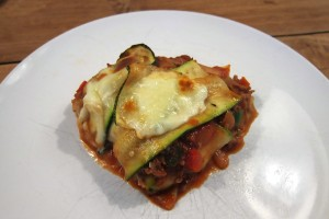 Courgettelasagne 2