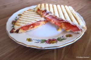 Tosti Bacon-Cheddar-Tomaat