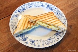 Tosti Abrikozenjam Brie