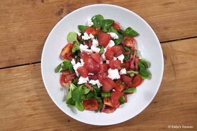 Stoofpeer salade 2