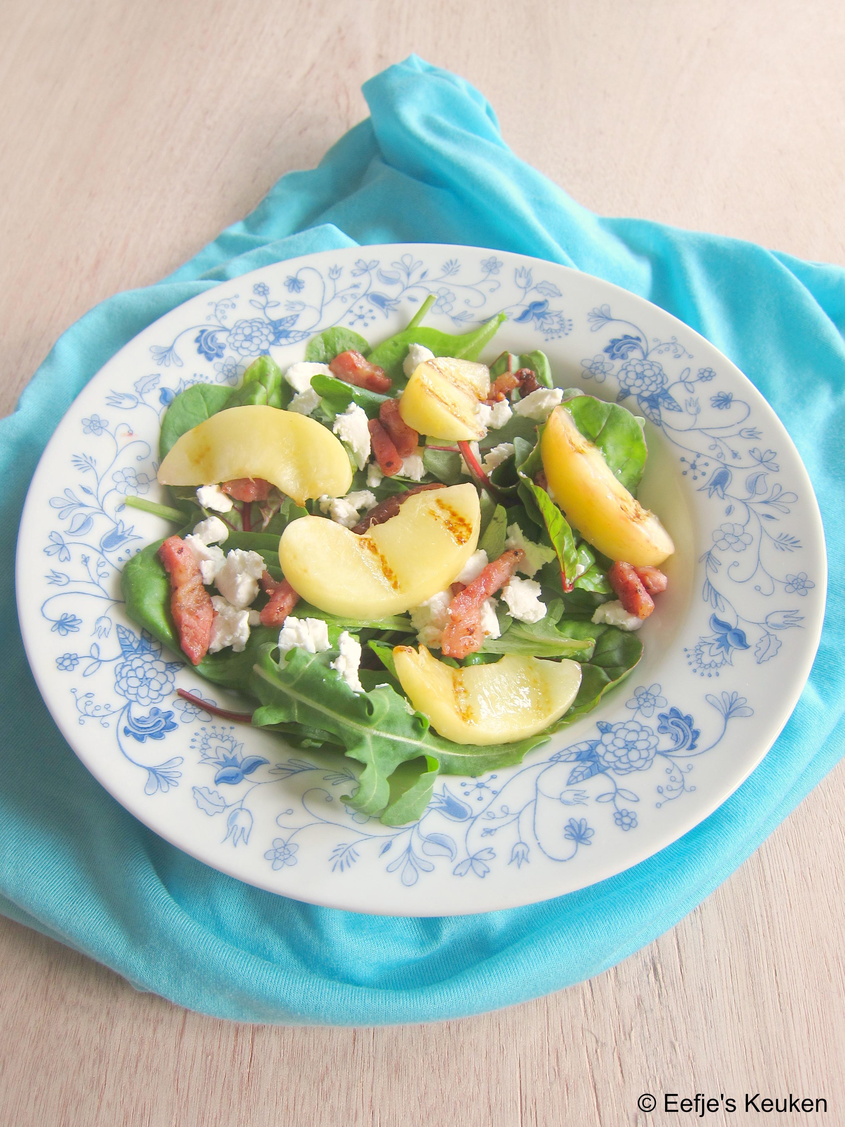 Salade Gegrilde Perzik